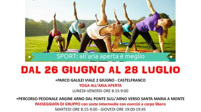 Sport All Aria Aperta Attivita Gratuite A Castelfranco Ilcuoioindiretta
