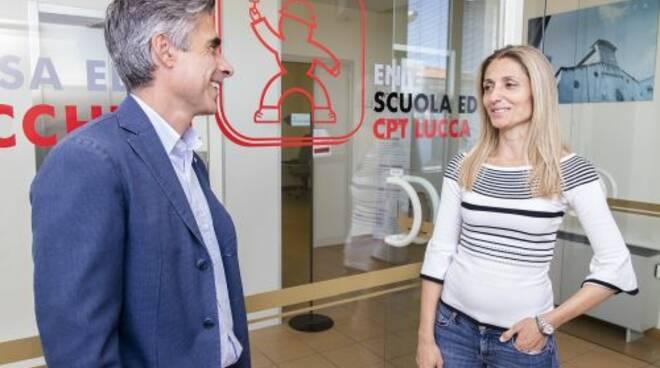 Il_presidente_Bianchi_e_la_nuova_vice_Alessia_Gambassi.jpg