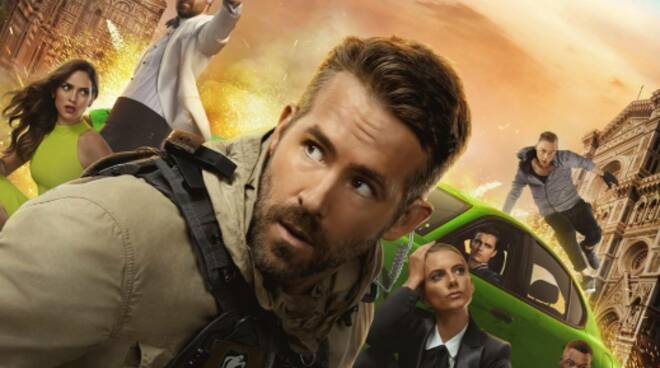 6 Underground film Michael Bay locandina Ryan Reynolds
