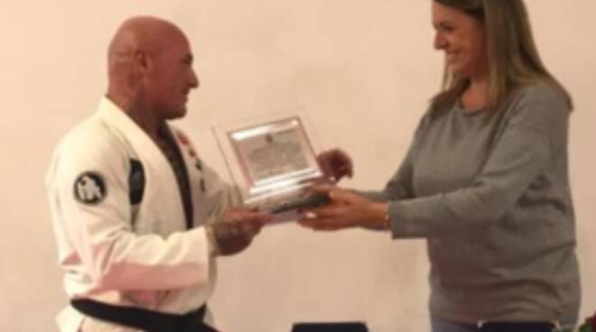 Alberto Remedi Sandra Mei karate Viareggio