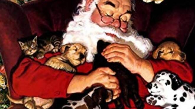Babbo Natale Animali Anpana Lucca