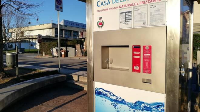 Casa dell'acqua a Massarosa