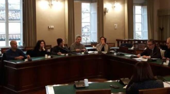 commissione partecipate sala consiglio Lucca
