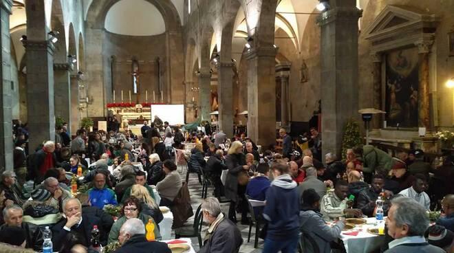 Comunità di Sant'Egidio preparazione pranzo Natale