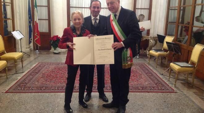 Consegna onoreficenze al merito della Repubblica 20 dicembre 2019 Lucca