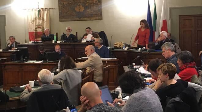 consiglio comunale di Lucca 17 dicembre 2019