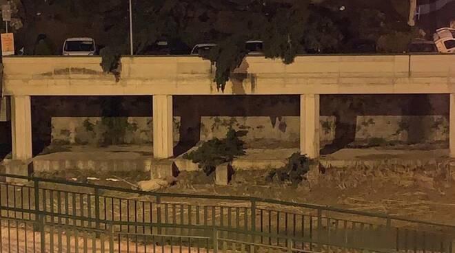 Crollo muro Montelupo Fiorentino