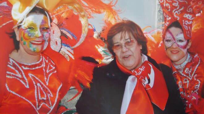 Deanna Dell'Unto carnevale Santa Croce sull'Arno
