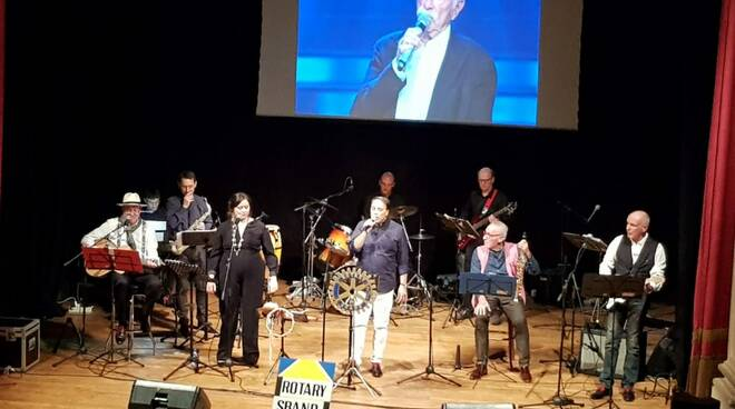 Dieci anni di Rotary sband al teatro di Santa Croce sull'Arno