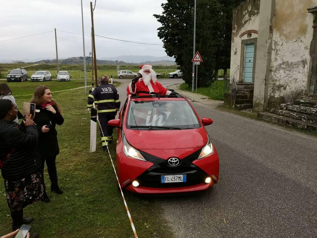Domenica 1 dicembre è stato inaugurato il presepe di Roffia San Miniato