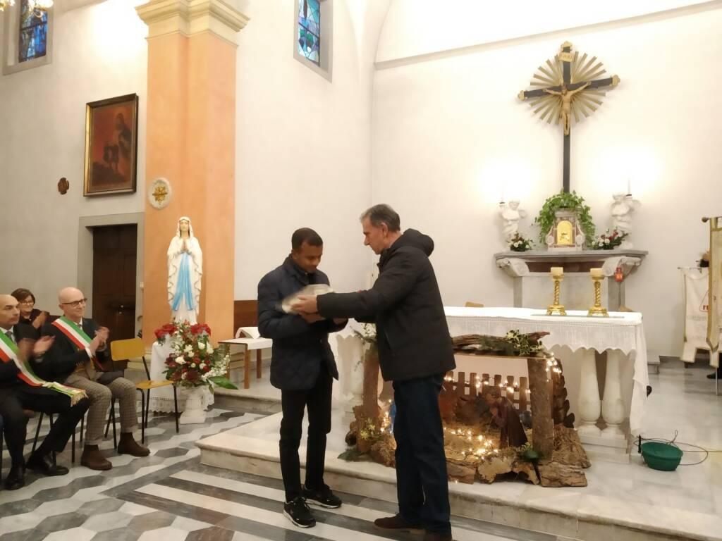 Don Anthony nuovo parroco di Galleno e Le Querce