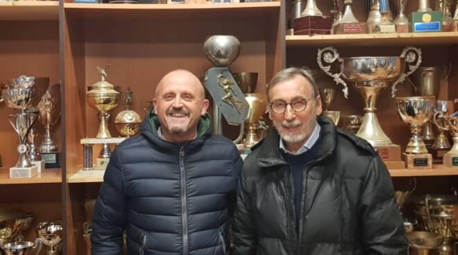 Gabrielli e Giannelli dello Sporting Club San Donato