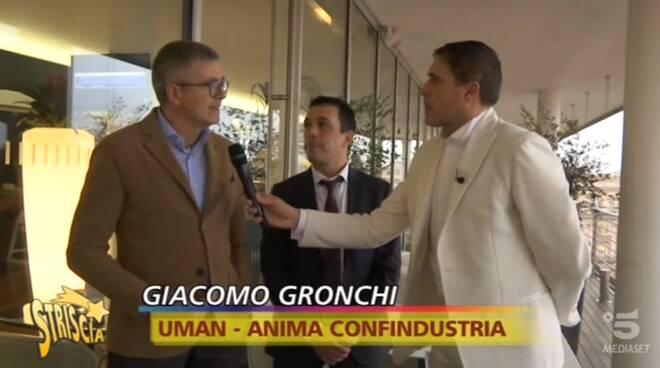 Giacomo Gronchi a Striscia la notizia