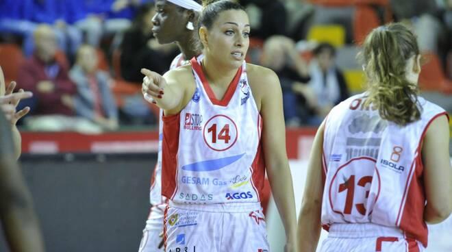 Giocatrice 14 del Basket Le Mura