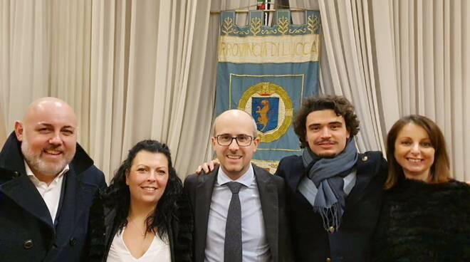 I consiglieri provinciali del centrodestra a Lucca
