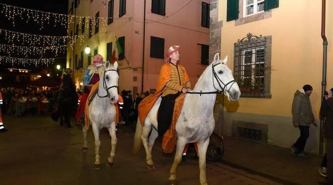 I Re Magi in centro storico a Lucca