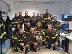 I vigili del fuoco di Lucca a lavoro a Natale