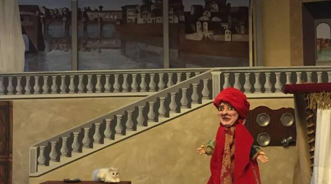 Il Gianni Schicchi per burattini in San Girolamo