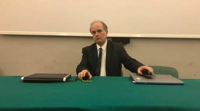 Il preside Cesare Lazzari