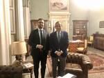 Il segretario di Conflavoro Capobianco incontra il prefetto esposito Esposito