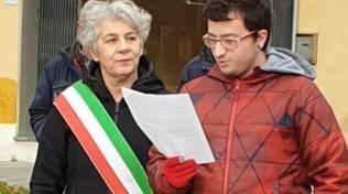 Ilaria Vietina inaugurazione panchina rossa dicembre 2019