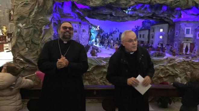 Inaugurazione del presepe nella chiesa di San Michele