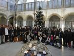 Inaugurazione dell'albero dei diritti al mercato del Carmine