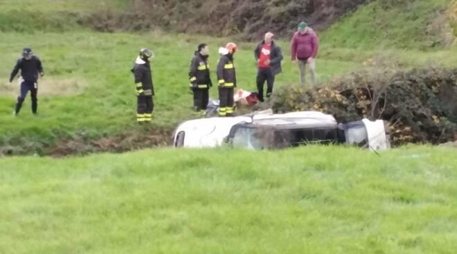 Incidente in località Valico ad Altopascio