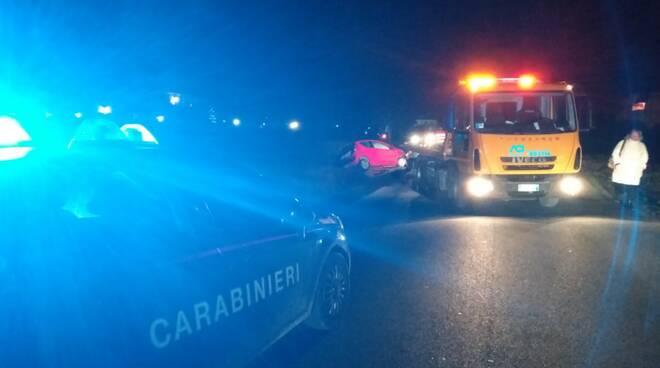 Incidente in via San Donato a Castelfranco di Sotto