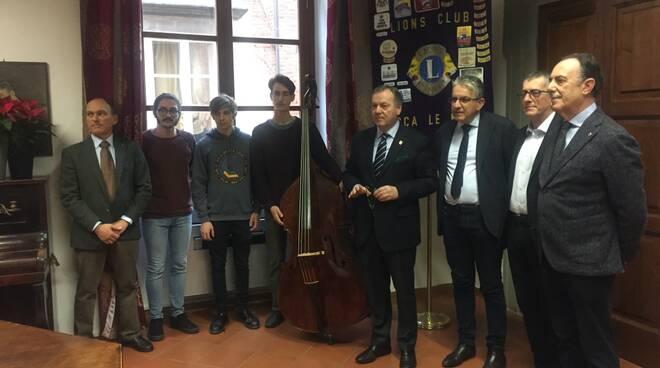 istituto superiore di studi musicali Boccherini contrabbasso Lions Club Lucca Le Mura