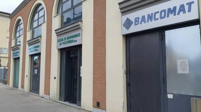La Cassa di Risparmio di Volterra in viale San Concordio