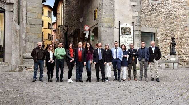 La giunta Tagliasacchi a Castelnuovo