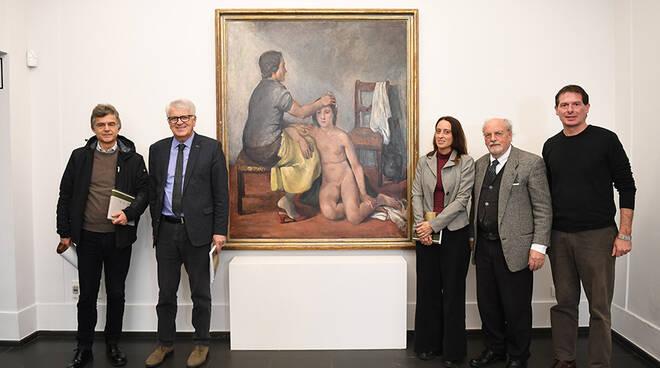 La mostra di Giuseppe Ardinghi e Mari Di Vecchio
