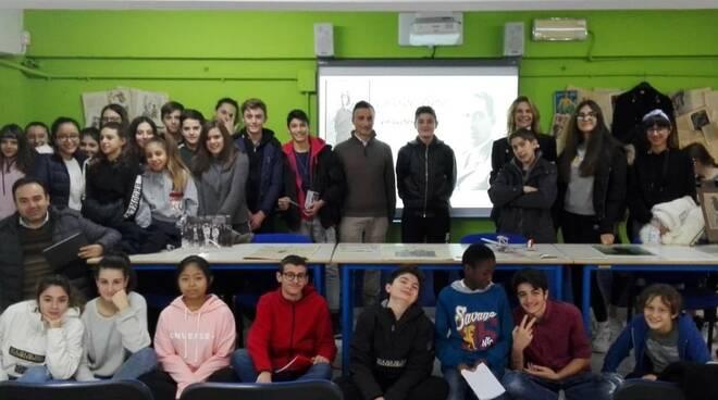 La scuola media Carlo Del Prete