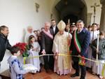 Le foto dell'inaugurazione del presepe artistico di San Romano