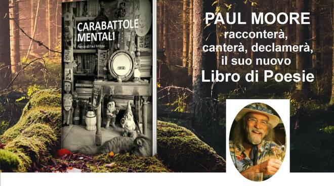 Locandina Paul Moore Libreria Baroni Lucca