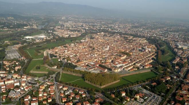 Lucca vista dall'alto