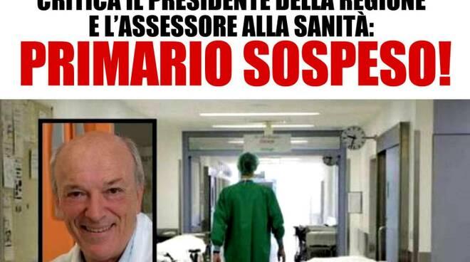 manifesto Salvini primario sospeso Fausto Trivella