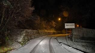 neve Trassilico Gallicano strada