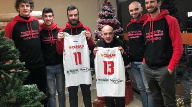 Polisportiva Capannori partnership Conad San Leonardo in Treponzio