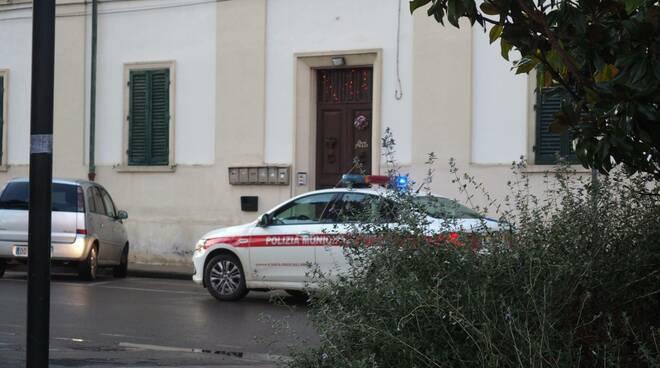 polizia municipale piazza del popolo Santa Croce sull'Arno