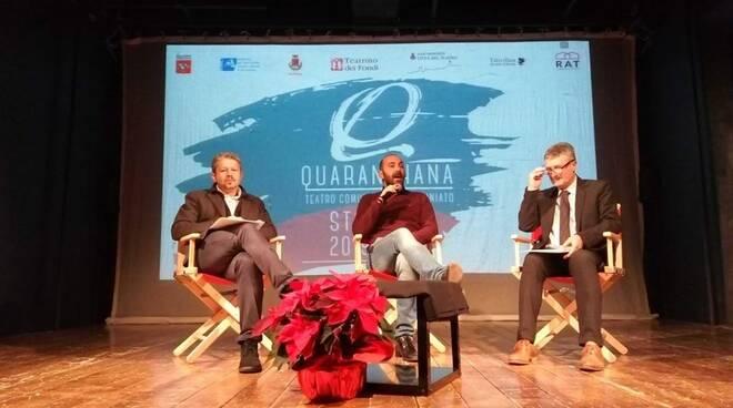 presentazione stagione teatro Quaranthana San Miniato
