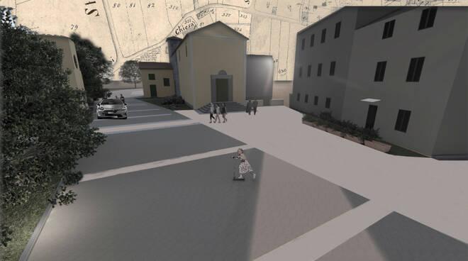 Progetto per il centro di Verciano