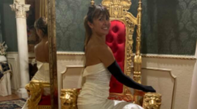 Sara Di Vaira abito Ballando con le Stelle