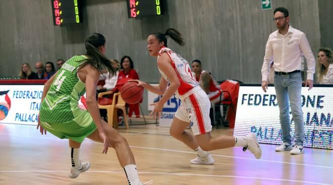 Silvia Pastrello Gesam Gas Le Mura Lucca basket femminile