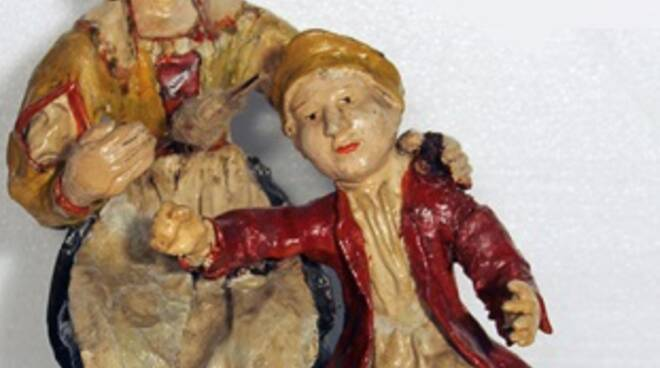 statuine presepe 1700 Santa Cristiana Santa Croce sull'arno