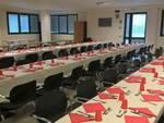 tavoli sala conferenze croce verde lucca pranzo natale