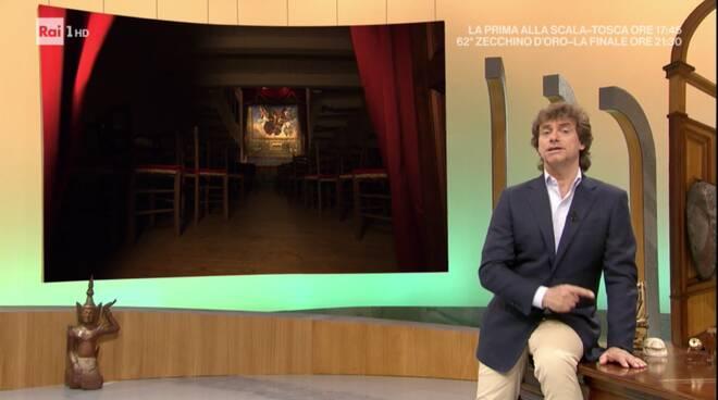 Teatrino di Vetriano protagonista in tv con Alberto Angela