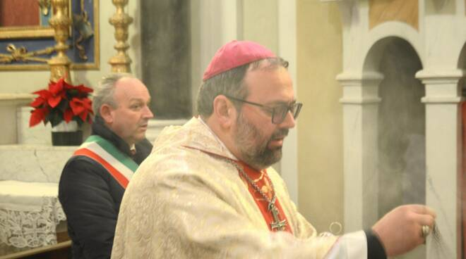 vescovo Paolo Giulietti Riana Fosciandora patrono San Silvestro