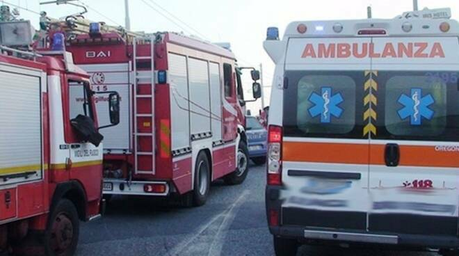 vigili ambulanza